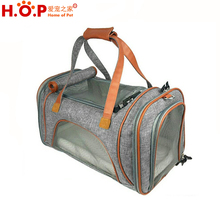 Wholesale High Quality Best portable travel pet dog carrier with pocket dog carrier bag