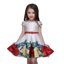 Baby clothes designer one piece party wear new style kids wedding dress L-93