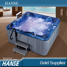 SPA-016 luxury freestanding massage outdoor hot tub with pop-up speakers