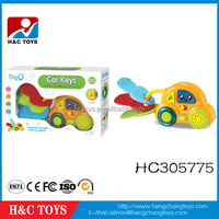 Funny baby toys plastic toy car key with light and music HC305775