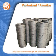 high tension stainless steel 304 price steel wire rope