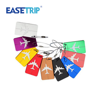 VS-T039 EASETRIP Stainless Steel Wirerope Blank Metal Luggage Tag