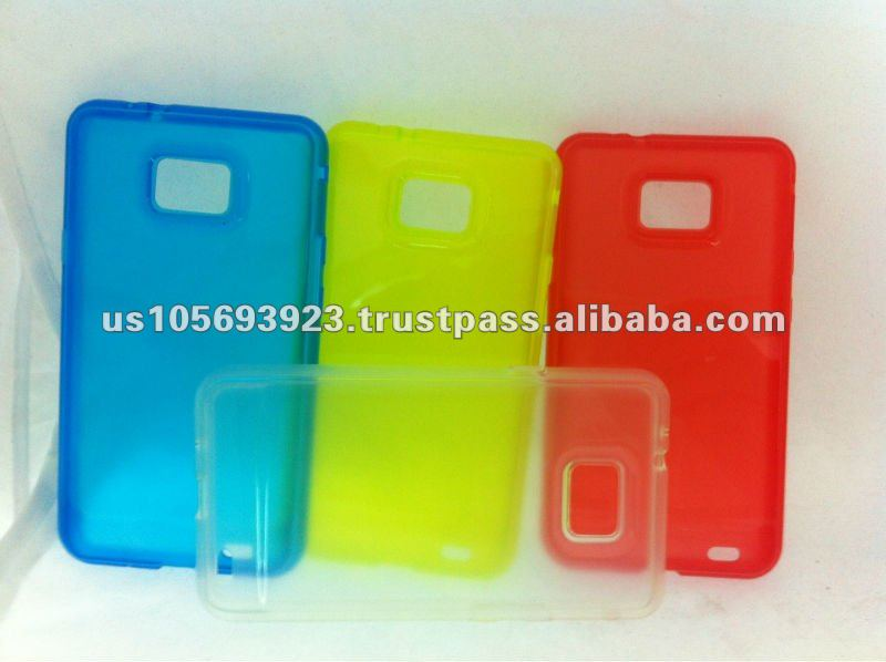 Promot goods TPU jelly case for Samsung galaxy s2 i9100
