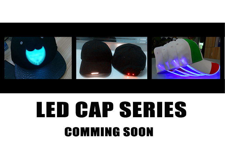 Custom Functional Led Light Baseball Cap