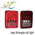 Multifunctional led tail light for jeep wrangler tail light 18w Turn/ Brake/ Reverse funtion
