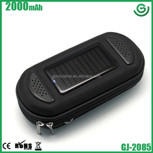 2014 top quality solar charger 2000 mah for business gift