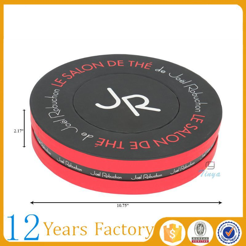 Wholesale customized paper round macaron box