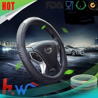 Promotional silicone car steering wheel cover