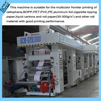 gravure cylinder polishing machine, plastic film printed and bopp printing machine