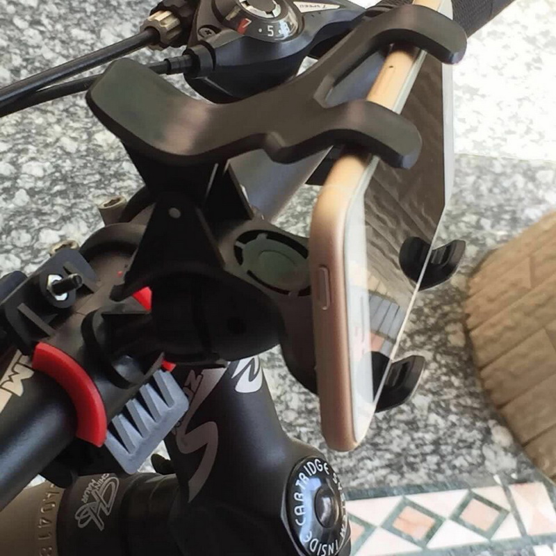Pop Cell Phone Holder For Bicycle And Motorcycle