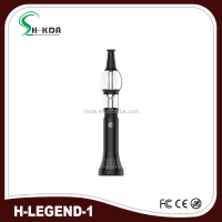 2016 100% Original H-legend electronic glass wax hookah tobacco pen shisha pen with battery kit from HKDA