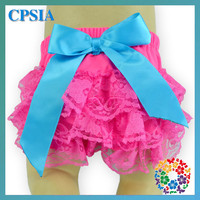 Toddler Infant Ruffle Baby Bloomer Wholesale Hot Pink Lace Bloomers Ruffle Panties Baby Panties Bloomer