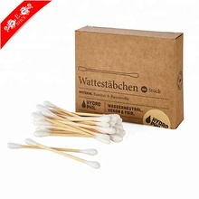 Factory directly applicator wooden cotton swab with lowest price