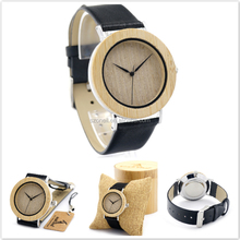 Online shop china hot clock bobo bird wooden watch with Japanese movement high quality