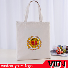 Custom Print Calico Canvas Tote Shopping Bag Long Short Handle