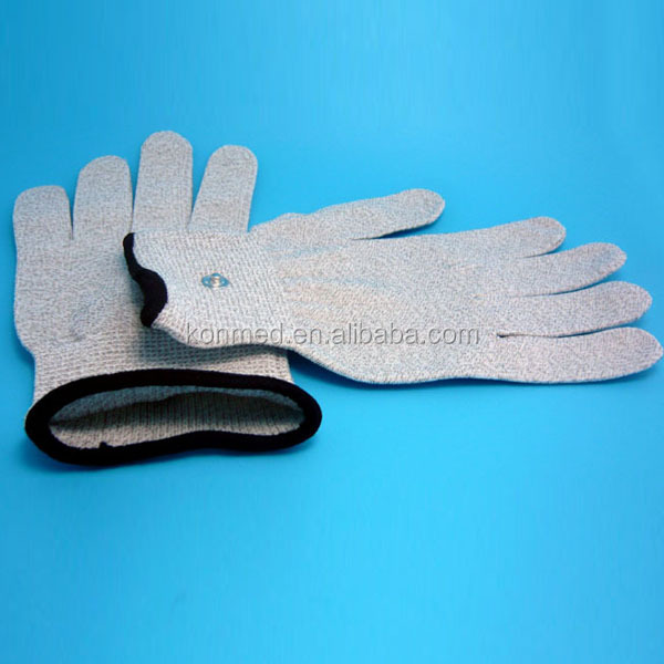 Physical therapy magnetic massage gloves for tens