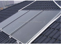Dr.X brand blue coating flat plate solar thermal water heating panel