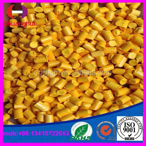 yellow Color Masterbatch For plastic bags