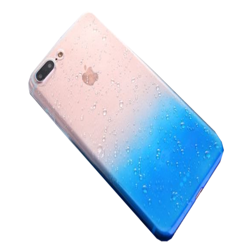 Phone case manufacturing plastic phone case environment friendly TPU color changing phone case for iPhone 7