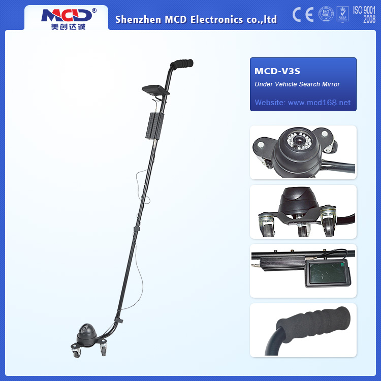 Convenient Under Car Checking Camera with Rechargeable Lithium Batteries MCD-V3S