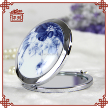 Portable and smart hand held makeup compact mirror TCJ101