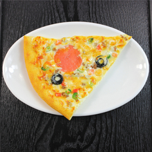 Artificial pizza fake food model display photo booth props