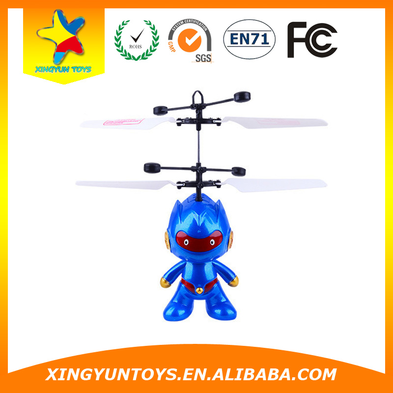 Wholesale mini toy robot infrared control rc toy robots with charger/plane transform robot toy