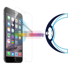 Anti Blue Light Screen Protector for iPhone 6 6s Easy Installation Eye Protect Tempered Glass 3D Touch Compatible for iPhone5 6s