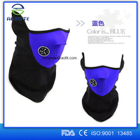Bike cycling motorcycle face mask cover outdoor sports mouth-muffle dustproof with filter