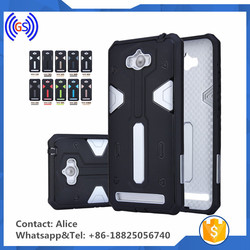 Free sample dual color flip back cover case for asus zenfone max case mobile phone electronics