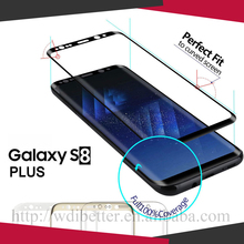For Samsung S8/Plus+Full Cover Hard Shockproof Tempered Glass Screen Protector Guard