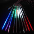 RGB 12V LED meteor shower light, 50cm Christmas meteor tube light
