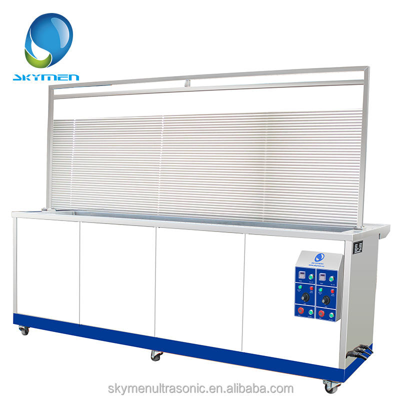 Long Tank Ultrasonic Curtain Clean Machine Blind Cleaner for Sale