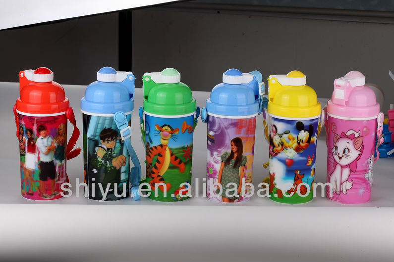high quality water bottle ( 600 ml )
