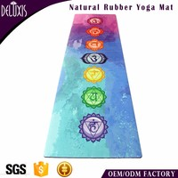 Factory direct sale grass pattern printing eco friendly mat yoga