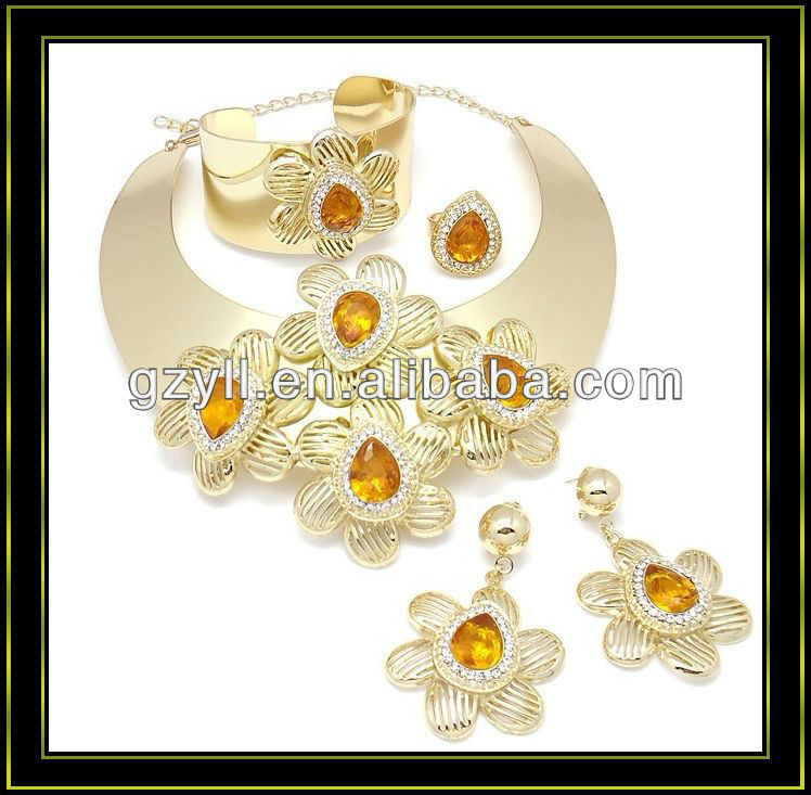 american diamond indian bridal gold jewellery sets
