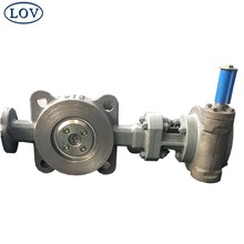 Chinese Supplier Triple Offset CF8M Stainless Steel Wafer End Type Butterfly Valve Price
