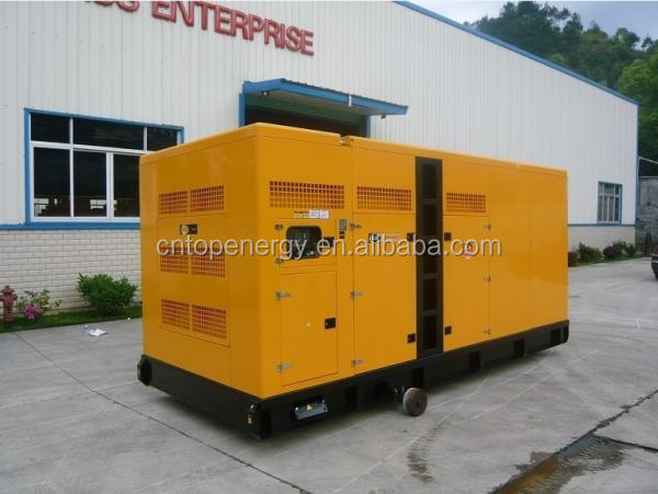 4-stroke water-cooled engine KT38-G2B 800KVA 4-cycle Diesel Generator with ATS