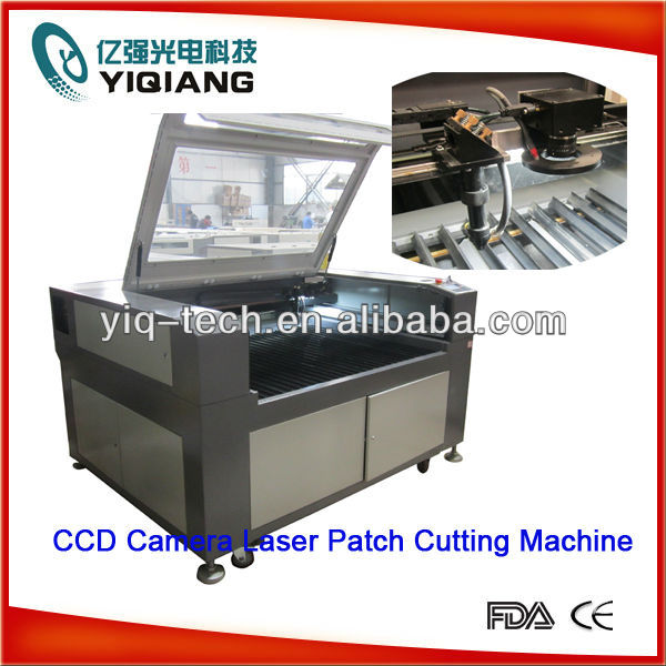 Label/Fabric Patch/Sticker/Printed Fabric Laser Cutting Machine with CCD Camera Best Price