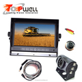 7 Inch Touch Button LCD Digital Monitor Waterproof IR Wide Angle Reversing Camera Kit