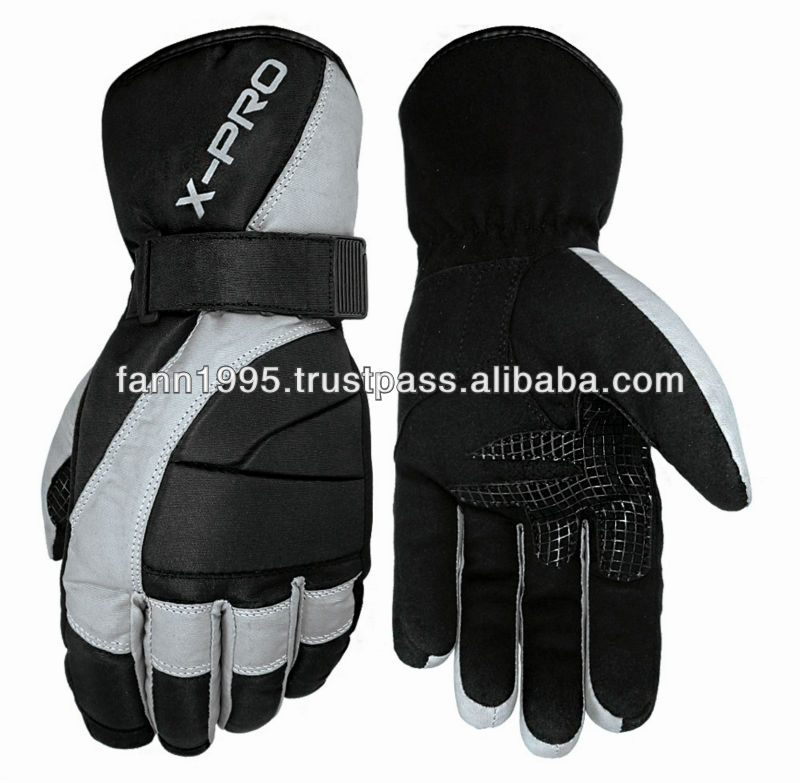 Motorcycle waterproof winter gloves for scooters and street bikes