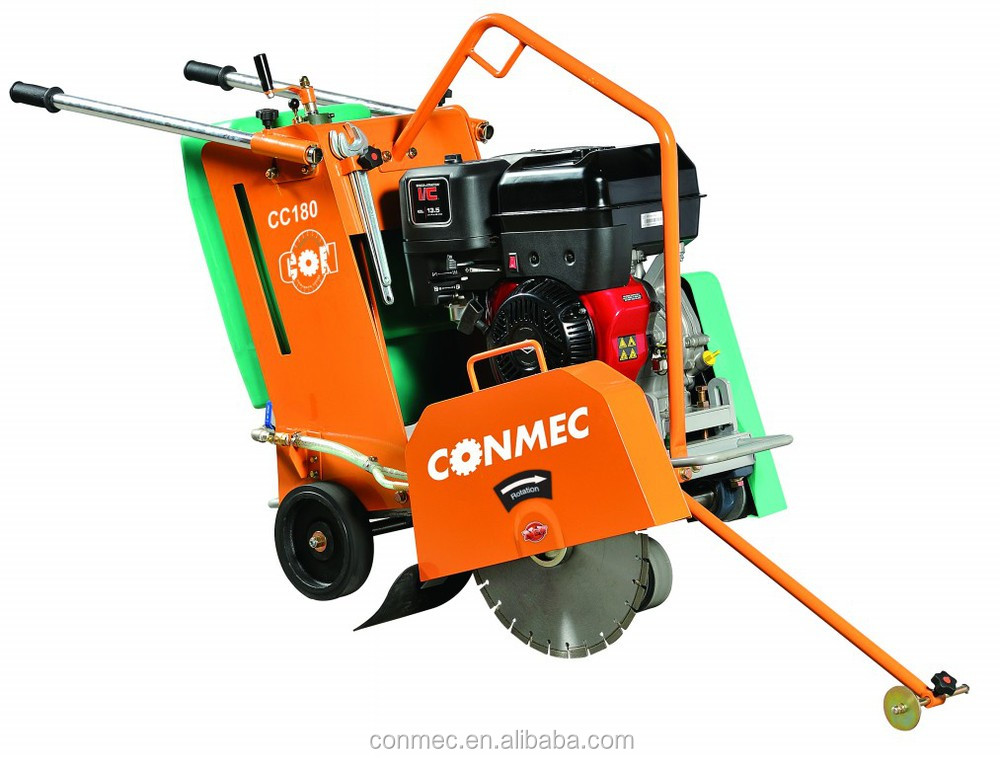 9.6KW Gasoline Concrete Cutter CC180, Concrete Cutter Saw