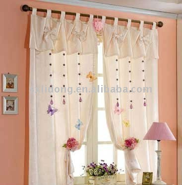 2012 Modern Lace Sheer Curtains