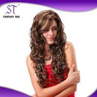 Alibaba China Suppliers synthetic milky way hair wigs
