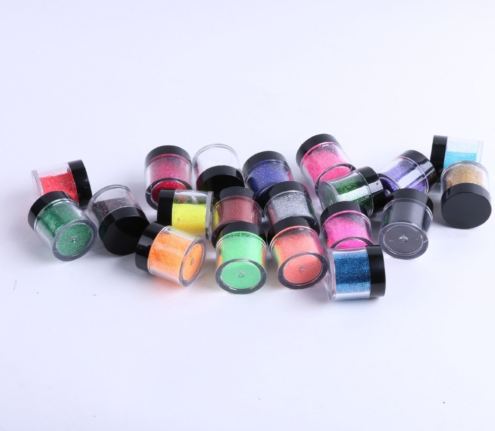 Wholesale Mix Color Acrylic Nail Chrom Pigment Dipping Powder for Nail Gel Tips
