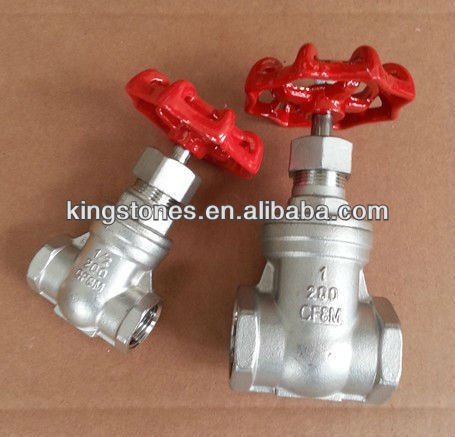SS304 Threaded Gate Valve low price
