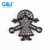 Guojie brand wholesale 20pcs fashion copper micro pave CZ cute women jewelry girl bracelet pendant charm pendant