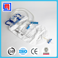2000ML disposable medical plastic adult urine bag