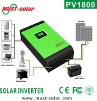 < Must solar >HOT 2015 high frequency off grid solar inverter 1kva 2kva 3kva 4kva 5kva builtin PWM 50A/ MPPT 60A solar charger