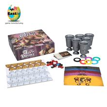 Customized Waterproof wooden cubes board game